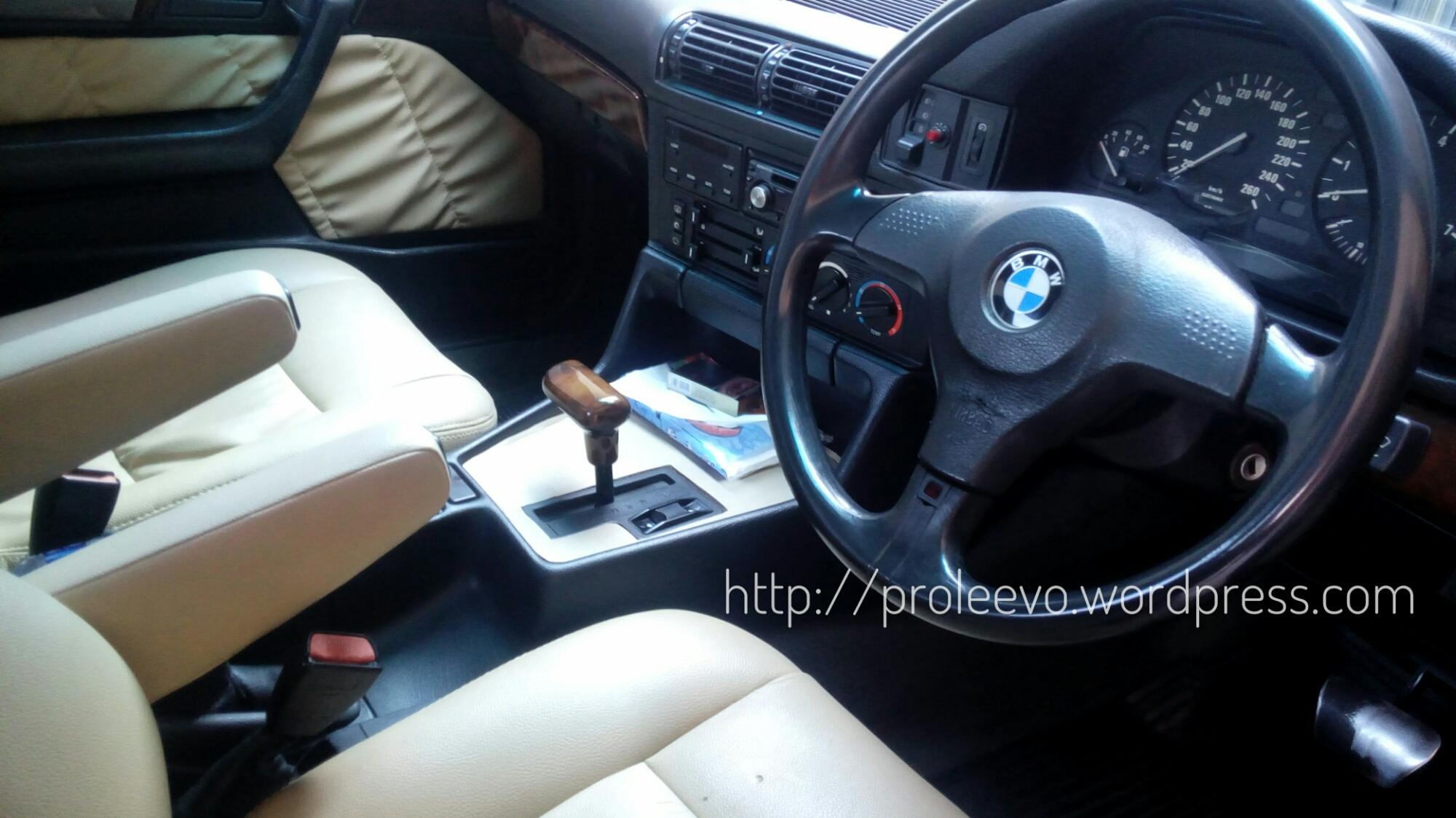 Cita Rasa BMW di Transmisi Matic 530i E34 M60